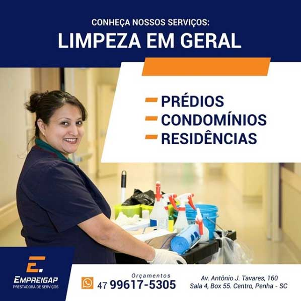 Limpeza Hospitais em Piçarras